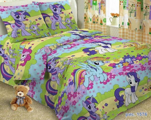 Детское постельное белье Пони - My Little Pony